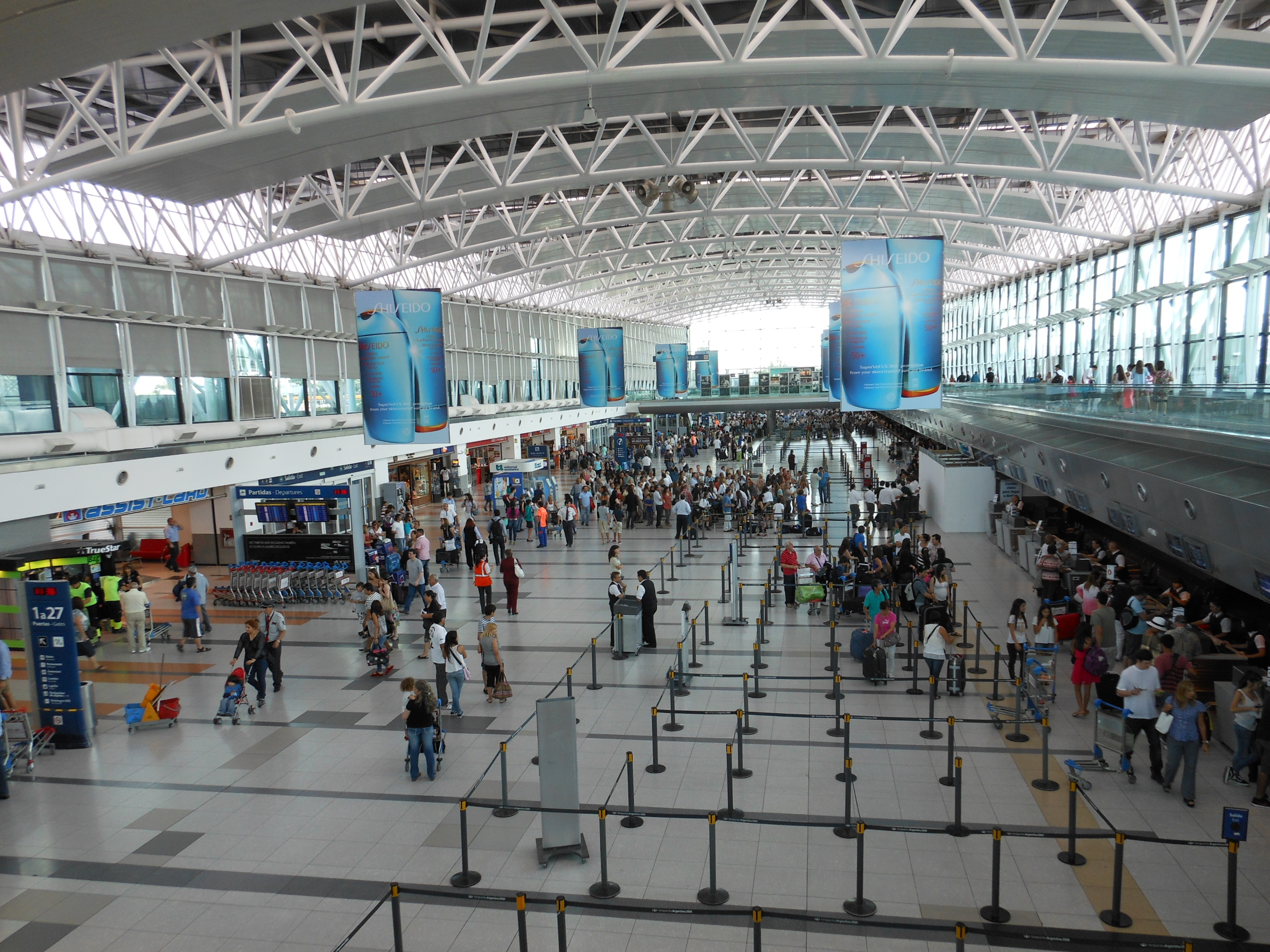 Aeroporto Eze : Buenos aires u como chegar e sair dos aeroportos where in the