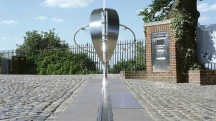 Marco Zero - Meridiano de Greenwich