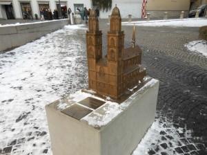 Miniatura da Catedral para deficientes visuais