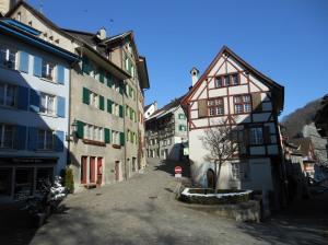 Centro antigo de Baden