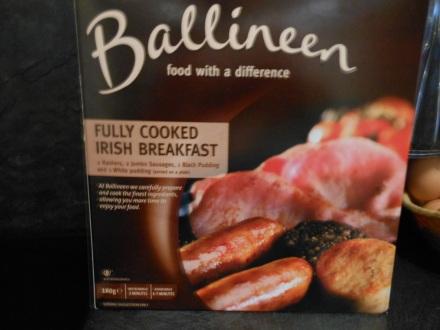 Caixinha do irish breakfast congelado