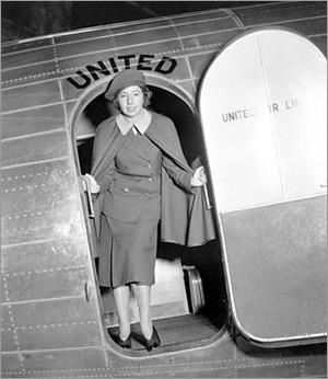 Ellen Church - primeira comissária de bordo