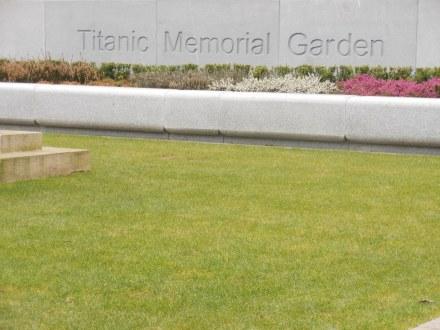 O Jardim em memória das vítimas do Titanic