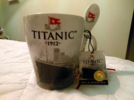 Caneca White Star Line Titanic